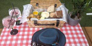 Summer picnic and gin cocktail at Bar 31, The Shard, London