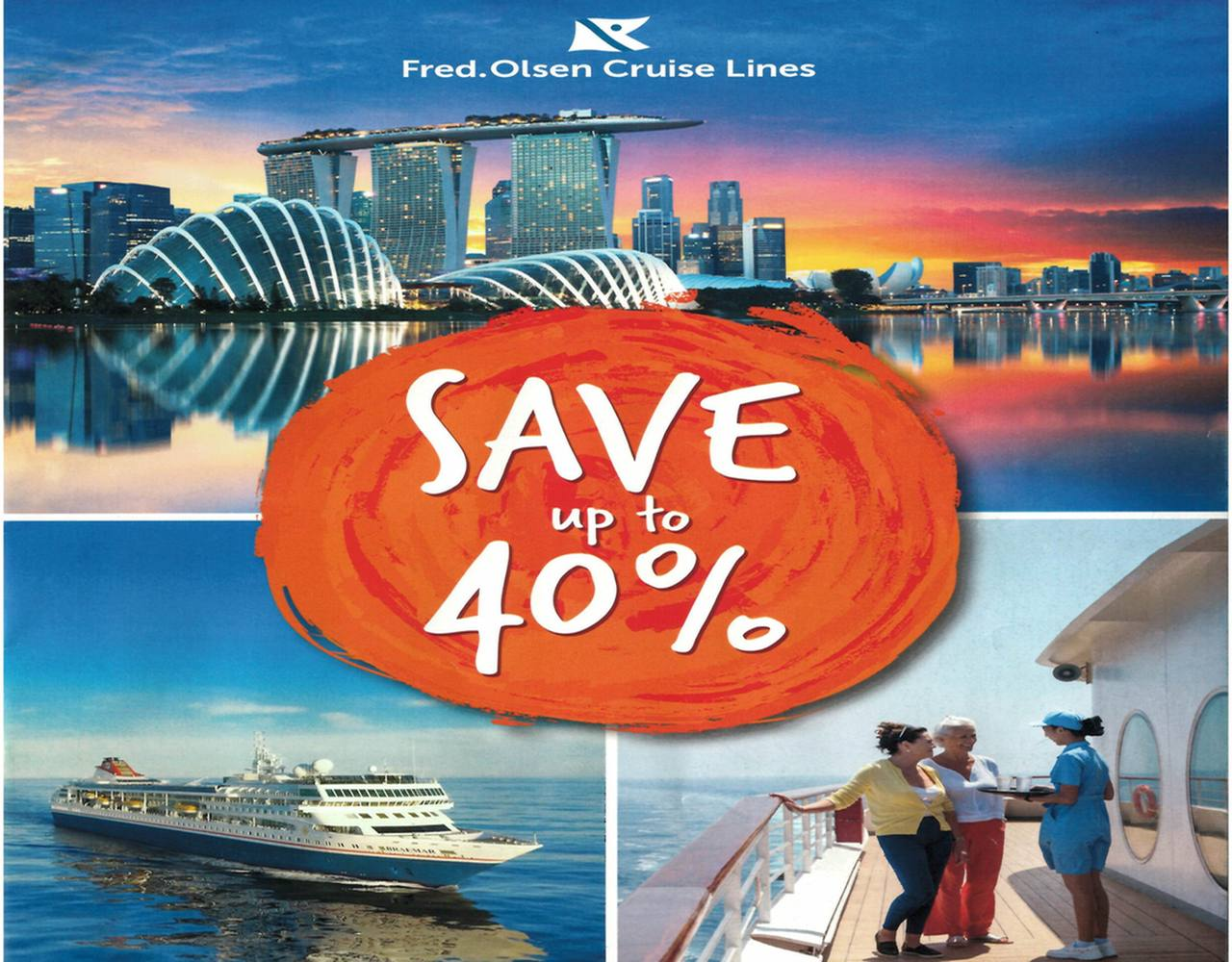 You are currently viewing Fred. Olsen sailings – save up to 40%!