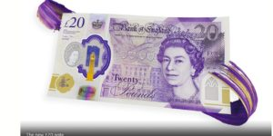 New face and security features for the most forged British bank note