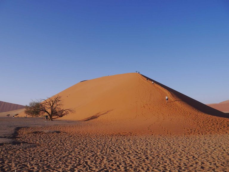 What is it really like to climb Dune 45 at Sossusvlei?