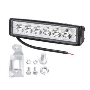 18W 12/24V IP65 Car LED Spot Work Light Flood Lamp Off-road Truck ATV Boat Truck