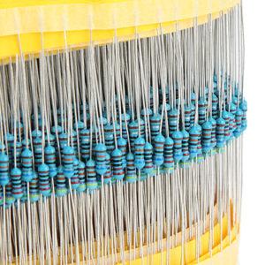 Geekcreit® 600pcs 30 Kinds Value 1% 1/4W Metal Film Resistor Assorted Kit 20pcs Each Value