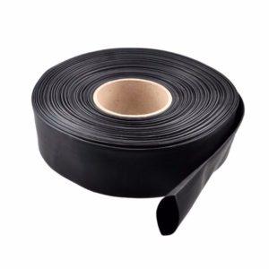 1m PVC Heat Shrink Tubing Black  30/40/46/50/60/70/86mm Wide For Lipo Battery