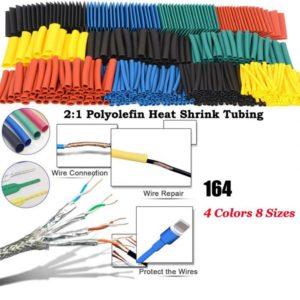 328Pcs Car Electrical Cable Heat Shrink Tube Tubing Wrap Sleeve Assortment M9 KC