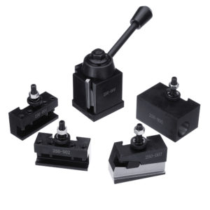 Machifit DMC-250-000 Cuniform GIB Type Quick Change Tools Kit Tool Post 250 001-010 Tool Holder for Lathe Tools