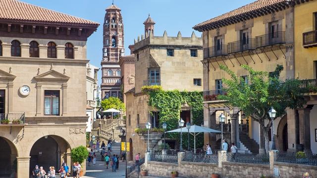 Discover Poble Espanyol Barcelona   Traveldudes.org