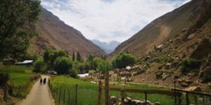 Exploring the Pamir Highway by car