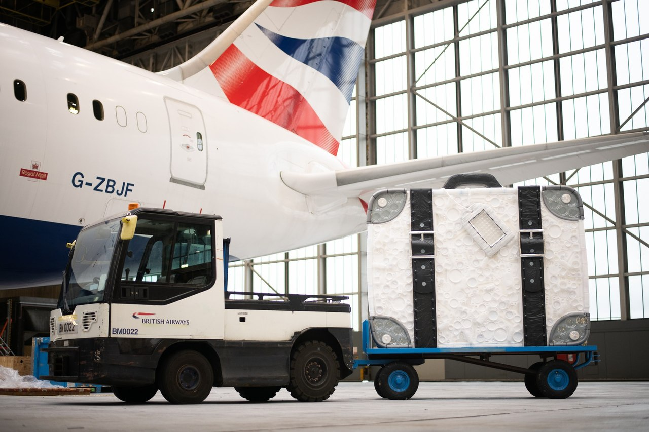BA plans to remove 250 million plastic items from flights
