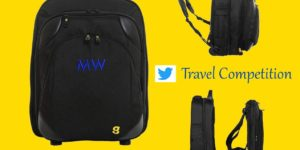 WIN a piece of personalised GATE8 luggage worth up to £159