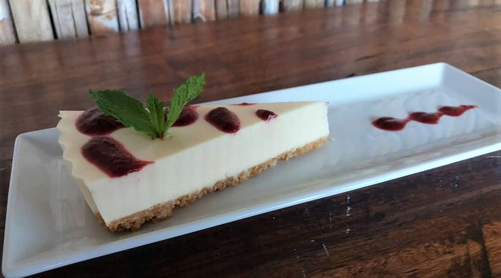 You are currently viewing Chef Maggie's almond and lime cheesecake
