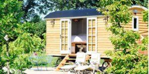 Two Night Shepherd's Hut Break for Two in Somerset £150