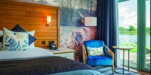 Leisurely Cotswolds stay at a modern lakeside retreat