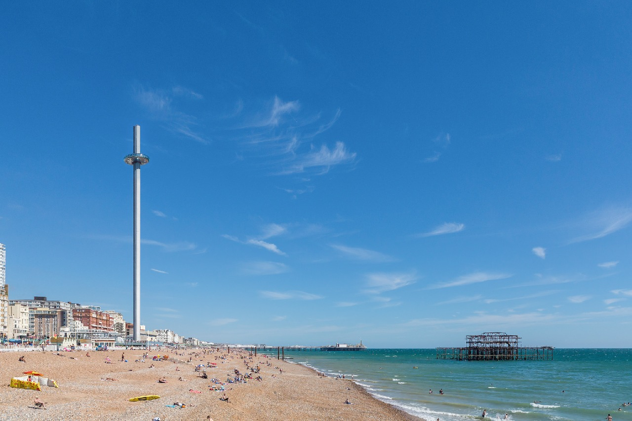 What's it like to travel in the BA i360 Observation Tower?