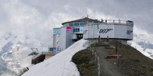 Licence to chill in Schilthorn, Switzerland
