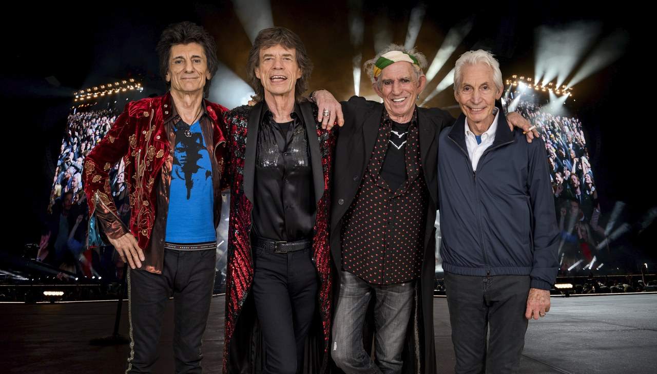 Rolling Stones open their flagship store in Carnaby Street, London