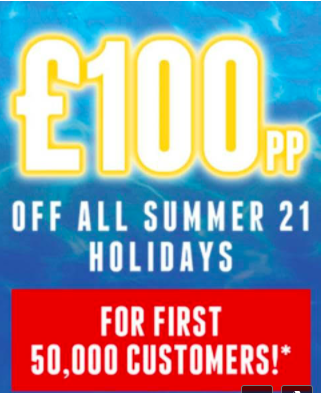 You are currently viewing Jet2Holidays are offering £100pp off for the first 50,000 holiday bookings