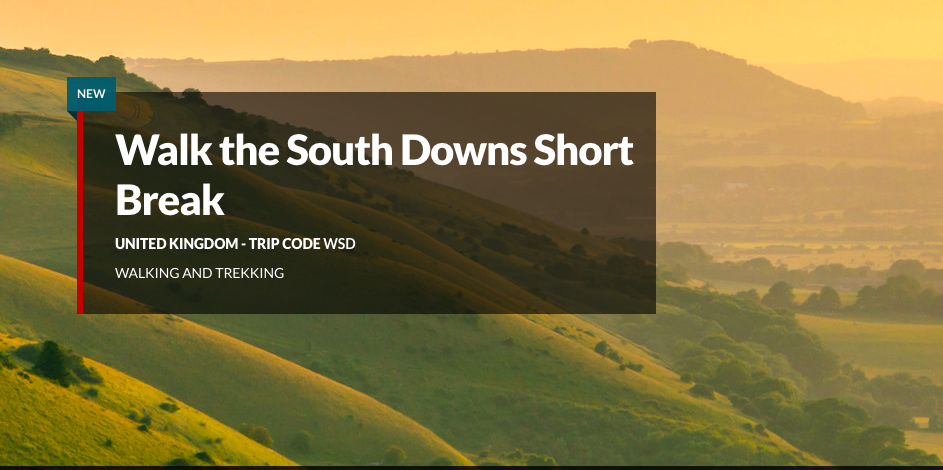 4-day Walk the South Downs Short Break with Explore from £499