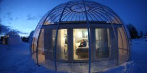 Want a bubble? How about an Arctic Bubble Cabin in Swedish Lapland