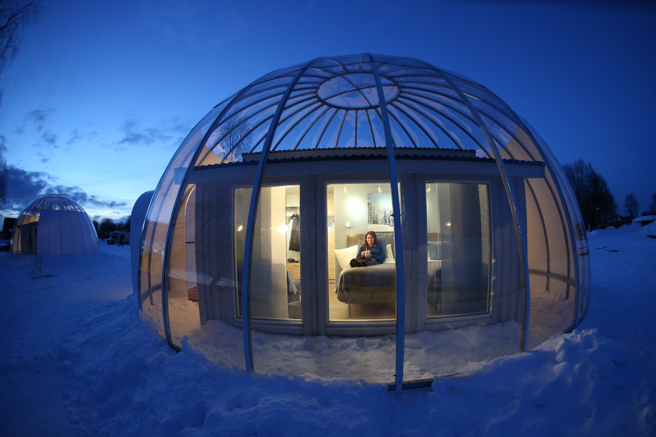 You are currently viewing Want a bubble? How about an Arctic Bubble Cabin in Swedish Lapland
