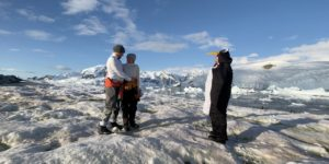 How we got married by a penguin in Antarctica