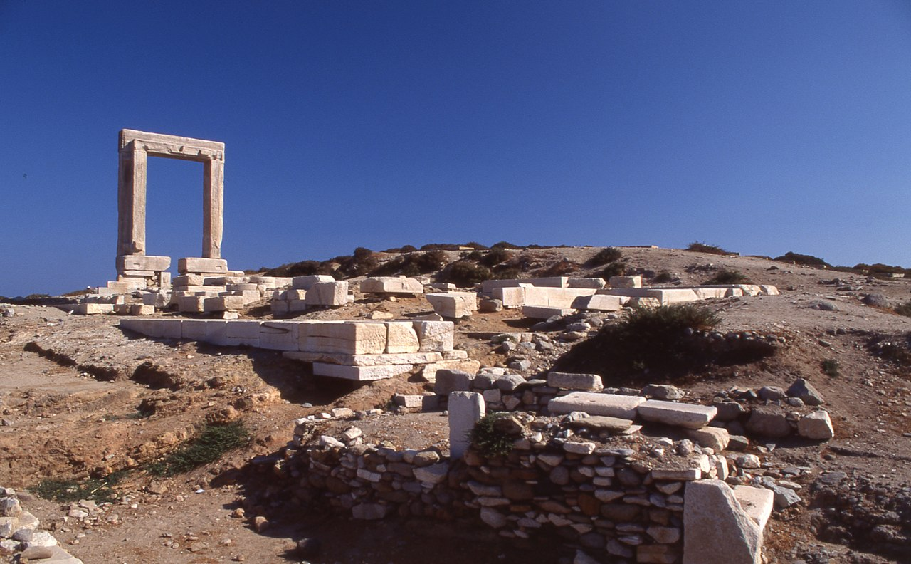 A tour of Naxos the largest of the Cyclades, Greece