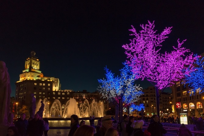 Christmas and New Year in Barcelona