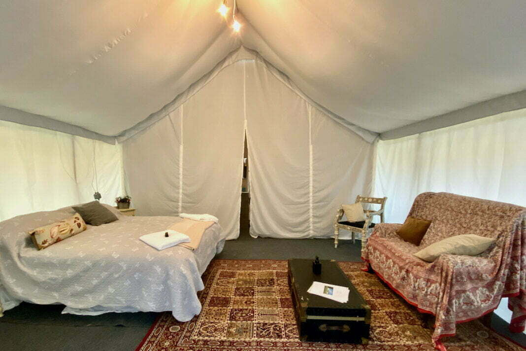 Glamping Overview: Pop Up Campsite, Somerset