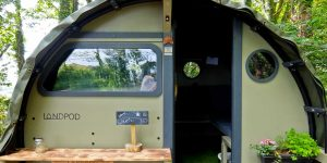 Glamping at Wildflower Wood, St Ives, Cornwall