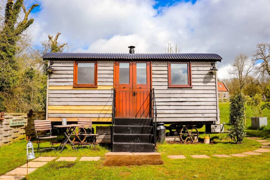 Accommodation Review: Tor View Shepherd huts, Mendip Hills, Somerset