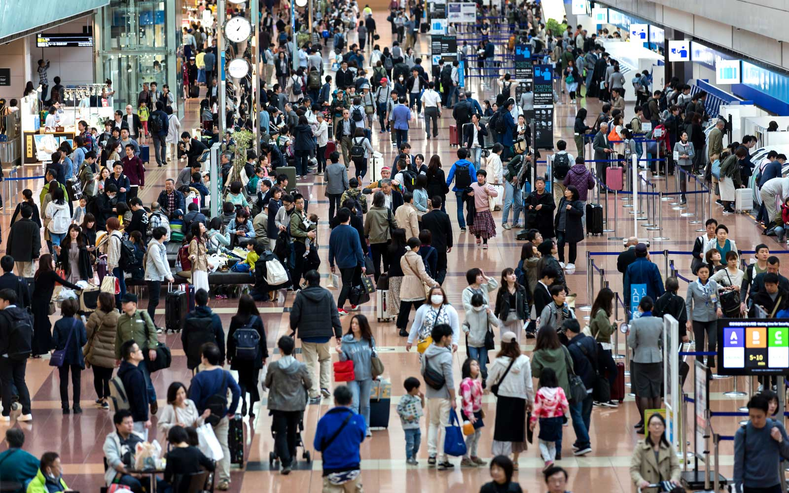July passengers number up but still below pre-pandemic numbers